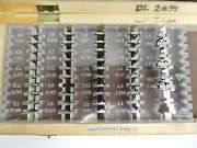 23pair Ful Set Rfk Measuring Wire Thread 65 Mm Hole F.micrometer