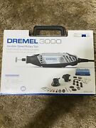New Dremel 3000-2/28 Rotary Tool W/ 2 Attachments, 28 Accessories And Storage Case