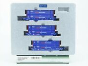 N Scale Kato 106-6117 Bran Pacer Maxi-iv Double Stack Car Set 6300