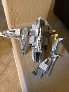 Lego Star Wars Emperor Palpatineand039s Shuttle 8096 Incomplete No Minis Or Manual