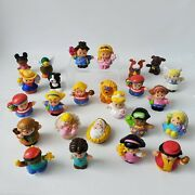 Lot Of 25 Fisher Price Little People Animals And Figures Princess Nativity