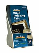 Tabbies 20 Pack With Display Catholic Gold-colored Bible Indexing Tabs Old And ...