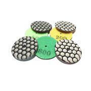 2 Inch 50mm 5mm Thickness Dry Diamond Polishing Pad For Marble Granite Glass