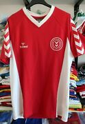 Hummel Denmark 1979 Home Jersey Maglia Size L Great Used Condition
