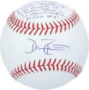 Dave Roberts Dodgers Signed 2020 Ws Champs Ws Baseball And Inscs - 1 Of A Le 12