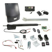 Us Automatic Ranger Hd 1 1/2 Hp Dc 16and039 800lbs Swing Gate Opener Battery Backup