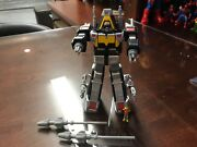 1997 Vintage Complete Mm Power Rangers - In Space Delta Megazord Micro Playset