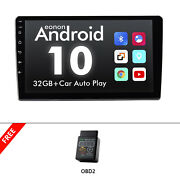 Obd+single 1din 9 Android 10 Touch Screen Car Stereo Radio Gps Wifi Dsp Carplay