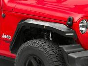 Barricade Off-road X-series Fender Flares With Led Drl And Marker Lights Red