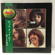 The Beatles / Let It Be / Akaban Ap9009 With Photo Book