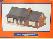 ✅lionel Large Suburban House Accessory 6-83442 O Gauge Train Lighted Building
