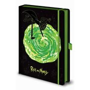 Rick And Morty Portal A5 Notebook Pm396