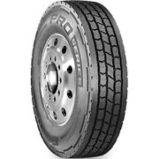 4 New Cooper Pro Series Lhd 285/75r24.5 Load G 14 Ply Drive Commercial Tires