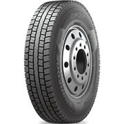4 New Hankook Dh37 285/75r24.5 Load G 14 Ply Drive Commercial Tires