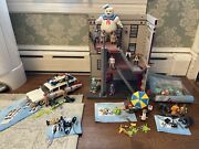 Ghostbusters Playmobil Collection Lot. Firehouse. Echo 1. Stay Puft. And More
