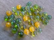 Hand Blown Witch Glass Balls Ornaments Orbs Solid