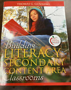 Building Literacy In Secondary Content Area Thomas Gunning 9780205580811