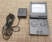 Gameboy Advance Sp Black | Nintendo Gba Sp Ags-001 Graphite Console Oem Charger