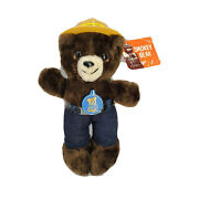 Vintage 1983 R. Dakin Smokey The Bear With Hat Belt And Tags 28-0015 10 Tall