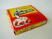Vintage 1950's Original Novelty Jumping Beans Toy Novelty Dime Store Display Nos