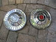 Packard Clipper Dog Dish Hubcaps Set Of 2 Oem