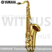 Yamaha Yts-62 Tenor Sax Saxophone Lacquer Made In Japan New Version