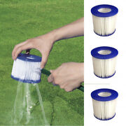 Swimming Pool Clean Accessories Skimmers Pool Cleaning Reusable Filter Cartridge