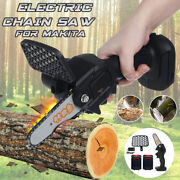 4 800w One-hand Saw Electric Chain Saw Wood Cutter Cordless Set For Woodworking
