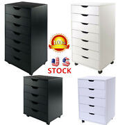 5/7 Layer Drawer File Cabinet Storage Mobile Office/home File Floor Organizer Us