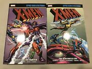 Marvel X-men Epic Collection 2 And 3 Lonely Are The Hunted Sentinels Live Tpb Lot