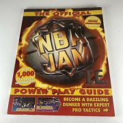 The Official Nba Jam Power Play Guide 1995 First Printing Paperback Nintendo