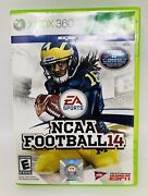 Ncaa Football 14 Xbox 360, 2013 Original Case And Disc Xbox 360 Tested Cleaned