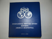 International First Day Covers Honoring Americaand039s Bicentennial Stamp Book 96 Pgs