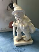 Hummel 164 Little Cellist 89/ii Expressions Of Youth Goebel 7 1/2 Tall White