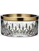 Waterford Lismore Reflection With Gold Band 8 Bowl