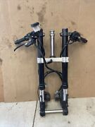 19-20 Ninja Zx6r 636 Front End Forks Clip Ons Calipers Steering Stem
