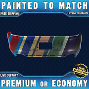 Painted To Match Rear Bumper Cover For 2013 2014 Ford Mustang Boss302 Gt W/ Cali