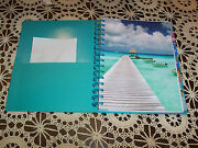 2014 Weekly/monthly Calendar Nos Tropical Spiral Note Baby Book 7x9 Journal Plan