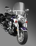 National Cycle N21105 Switchblade 2-up Windshield - Clear