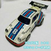 Alps Porsche Turbo Rsr Tinplate Made In Japan Showa Retro Things At The Time