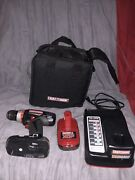 Craftsman C3 19.2 Volt 1/2 Inch Chuck Heavy Duty Drill Kit Charger Case
