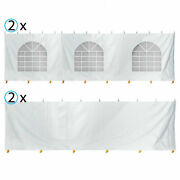 4 Sidewalls 30x30and039 Canopy Tent Enclosure Kit 8and039h Block Out Vinyl Privacy Panel