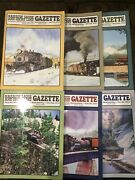 Narrow Gauge And Short Line Gazette Magazine - 2012 Complete Year 6 Issues