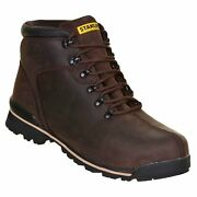 Stanley Boston Safety Boots - Brown