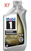 7 Quarts Engine Motor Oil Mobil1 Extended Performance Full Synthetic Sae 5w-20
