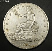 1875-cc Trade Dollar Au++ Free S/h After 1st Item