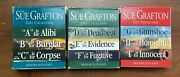 Lot 3 Sue Grafton Audiobooks Gift Collection 9 Books - A-i Abridged