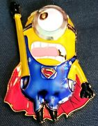 Awesome 2.5 Navy Usn Chiefs Pride Cpo Challenge Coin Superman Minion