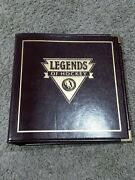 Legends Of Hockey Autographed Card Set - 90 Cards With All 49 Autoand039s Possible