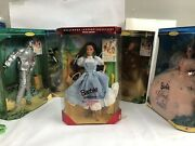 Lot Of 5 Wizard Of Oz Barbie Set Hollywood Legends Collection Mattel New In Box